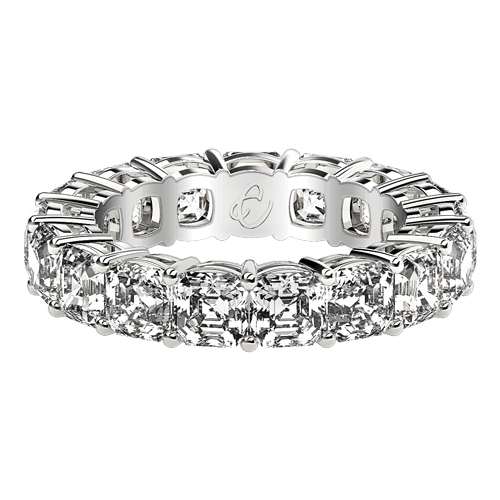 Asscher Eternity Rings
