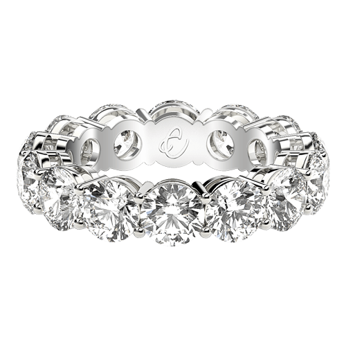 Round Eternity Rings